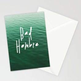 Proud Bad Hombre Stationery Cards
