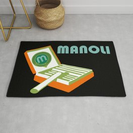 Manoli Plakatstil Rug
