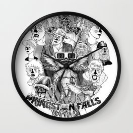 Kingston Falls 1984 Wall Clock