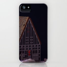 Concept Christmas : The xmas barn iPhone Case