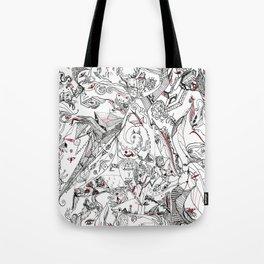 RedBlack Feelings (full) Tote Bag