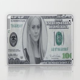 Lindsay Lohan money Laptop & iPad Skin