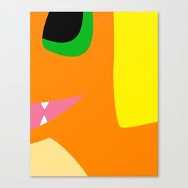 Close Up Art - Char Canvas Print
