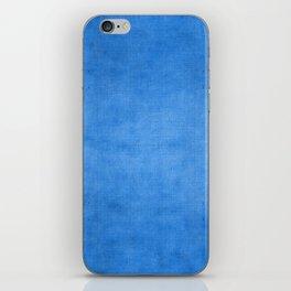 """""""Exotic Moroccan Indigo Blue Burlap Texture"""" iPhone Skin"""