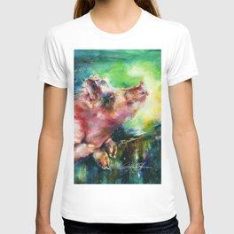 Charlie - by Kathy Morton Stanion T-shirt