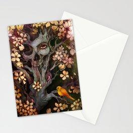 Orange Bird Stationery Cards