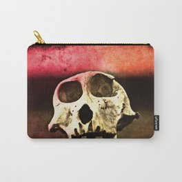 Baboon Skull Sunset Carry-All Pouch