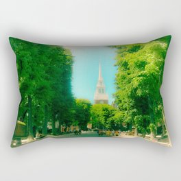 Boston's North End, Old North Church Rectangular Pillow