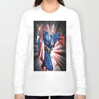 captain Long Sleeve T-shirts featuring Captain.... by wOlly