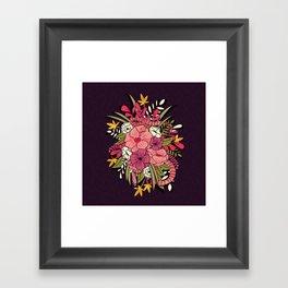 Jungle Bouquet 001 Framed Art Print
