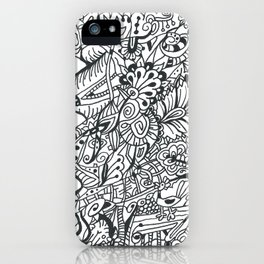 Breaking the Pattern iPhone Case