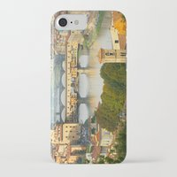 florence iPhone & iPod Cases featuring Florence by Shannon McCullough-Wight