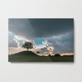 Storm in the fields of Friuli Venezia-Giulia Metal Print