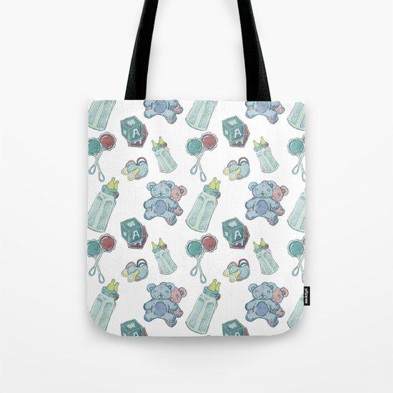 Baby Pattern Tote Bag