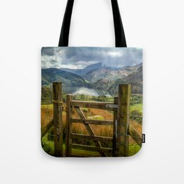 Valley Gate Tote Bag