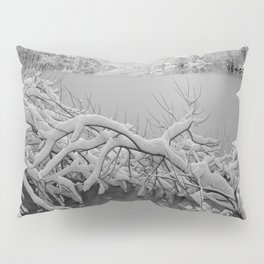 Wintry Lake Bohinj Pillow Sham