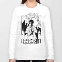 hobbit Long Sleeve T-shirts featuring The Hobbit by LinhBR