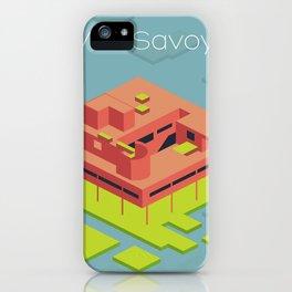 Villa Savoye and Le Corbusier iPhone Case