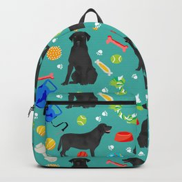 Black Lab dog toys cute dog breeds black labrador retriever gifts pet friendly Backpack