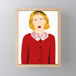 Sabrina Before Her 16th Framed Mini Art Print