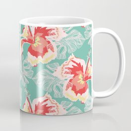 Hawaiian Flowers Coffee Mug