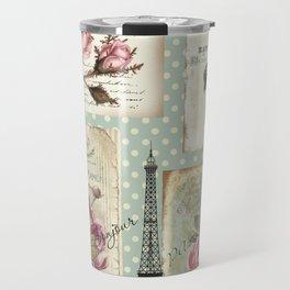 Postcards from Paris Travel Mug