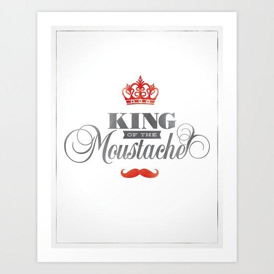 The King  Art Print