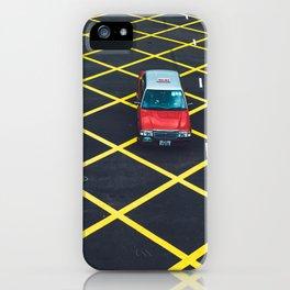 HK Taxi iPhone Case