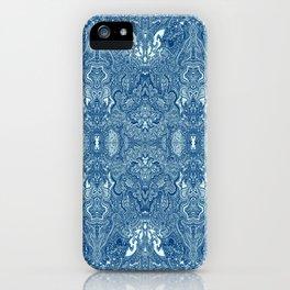 Persian Rug Blue iPhone Case