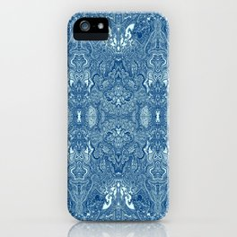 Persian Rug Blue iPhone Case