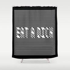 Eat a D*ck Shower Curtain
