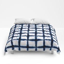 Shibori Squares Comforters
