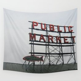 Public Market Wall Tapestry