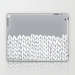 Half Knit Grey Laptop & iPad Skin