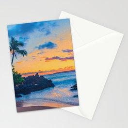 Glitter Beach Stationery Cards