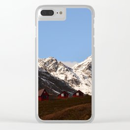 Hatcher Pass Termination Dust Clear iPhone Case