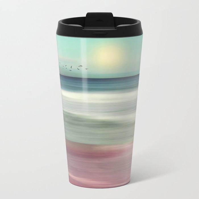OCEAN DREAM IV-B Metal Travel Mug