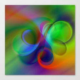 color whirl -31- Canvas Print