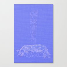 To Carry the Ocean Canvas Print