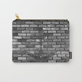 Anchor Brick Wall Carry-All Pouch