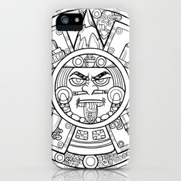 Pencil Wars Shield iPhone Case