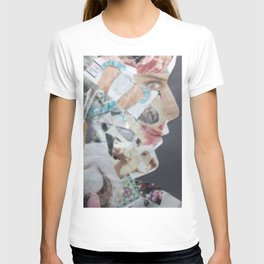 Kids Art Self Expression Paper Abstract Collage T-shirt