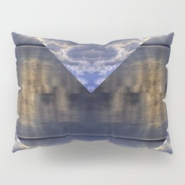 Water and Clouds Pillow Sham