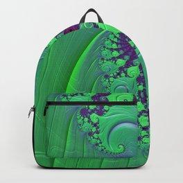Euphoric Seahorse - Fractal Art Backpack