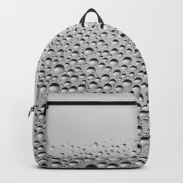window VIEW - the beauty of a rainy day Backpack