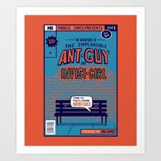 Ant Guy Art Print