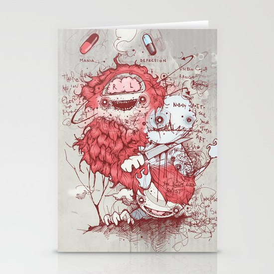 Dr Jekyll Stationery Cards