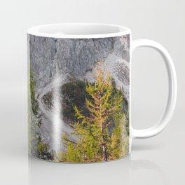 Stunning autumn scenery below mountains Coffee Mug
