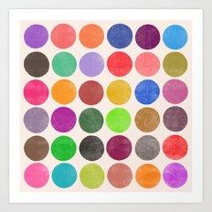 colorplay 15 Art Print