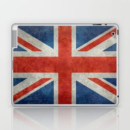 "UK British Union Jack flag ""Bright"" retro Laptop & iPad Skin"